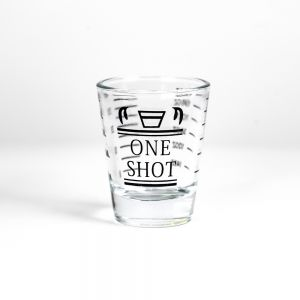 Barista Single Spout Shot Glass with Measurement