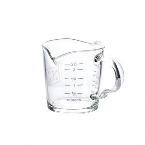 Barista Shot Glass Double Spout