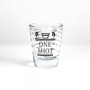 Barista Shot Glass Single Spout