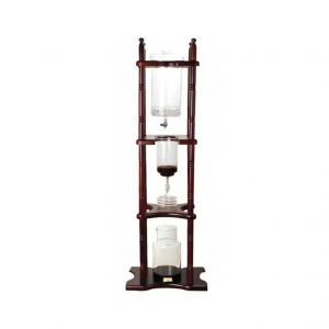 Barista Cold Brew and Cold Drip Coffee Tower 25 cups made from real wood