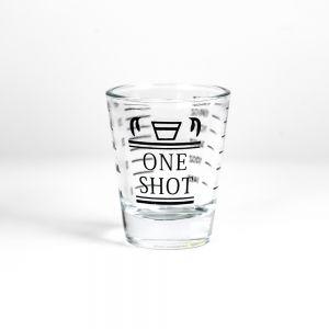Barista Single Spout Shot Glass with Measurement